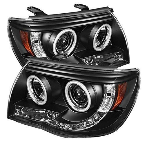 Spyder Auto Toyota Tacoma Black CCFL LED Projector Headlight (Toyota Tacoma Black Headlights compare prices)