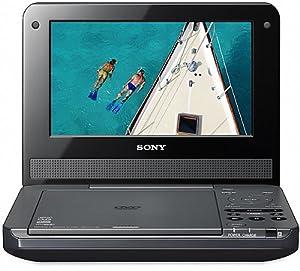 Sony DVP-FX730 7-Inch Portable DVD Player, Black