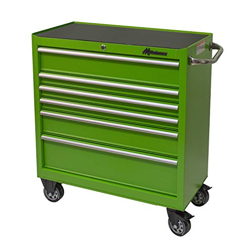 6-Drawer Roller Cabinet Toolbox - Green (Toolbox Green compare prices)