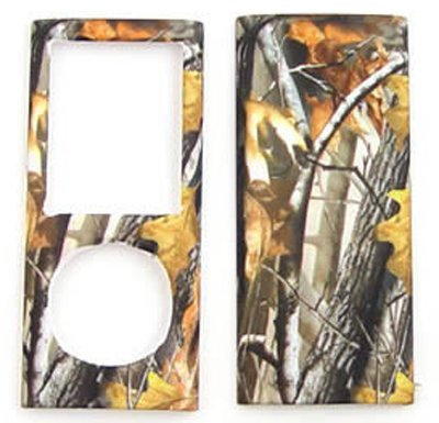 Apple iPOD NANO 4 Camo / Camoufalge Hunter Series w/ Big branch Hard Case/Cover/Faceplate/Snap On/Housing/Protector