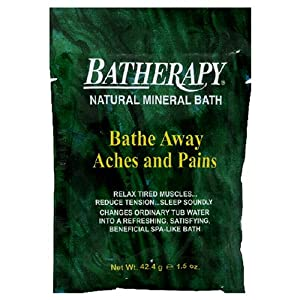 Queen Helene Original Batherapy Mineral Salts- Packet  1.5-Ounce (Pack of 3)