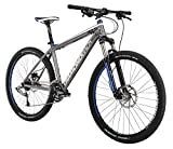 Diamondback Bicycles 2015 Axis Sport Hard Tail Complete Mountain Bike, 22-Inch/X-Large, Dark Silver/Blue