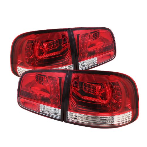 Spyder Auto Alt-Yd-Vtou04-Led-Rc Volkswagen Touareg Clear Red Led Tail Light