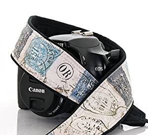 Camera Strap 202, French Postage dSLR, SLR or Mirrorless Cameras