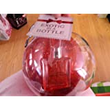 Bath And Body Works Exotic In A Bottle 1.8 Oz Japanese Cherry Blossom Eau De Toilette In A Glitter Ball Bubble