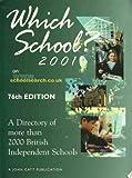 Which School? 2001