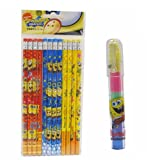 Spongebob Pencils 12 and 1 Eraser