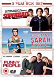 Funny People/Superbad/Forgetting Sarah Marshall [DVD]