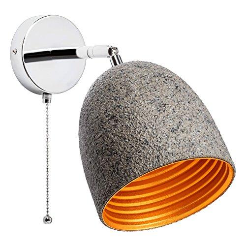 Applique à tirette couleur de pierre couleur chrome couleur or 1 ampoule non-incl. E27 1x60W 220V