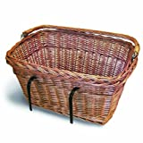 Basil Wicker Rectangular Hook-On Front Basket
