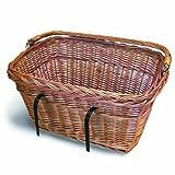 Basil Wicker Rectangular Hook-On Front Basketby Basil