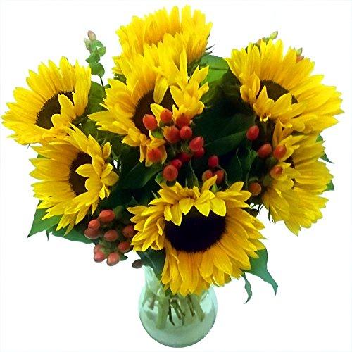 clare-florist-radiant-sunflower-surprise-fresh-flower-bouquet
