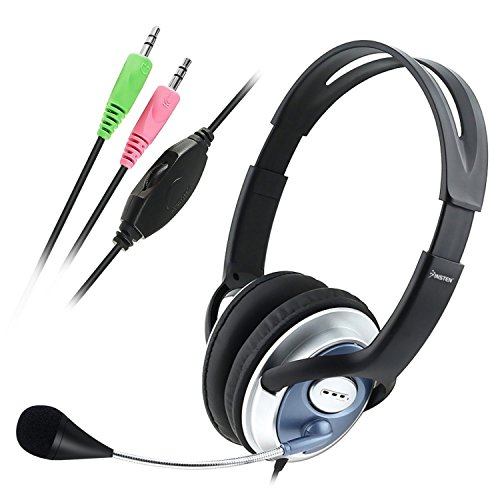 Insten VOIP/SKYPE Handsfree Stereo w/ Microphone Headset