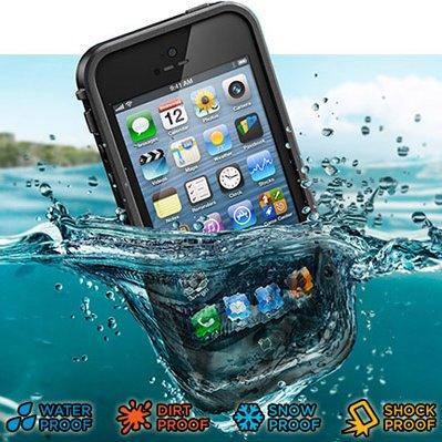 iPhone5 防水・防塵・防雪・耐衝撃のスーパーケース スーパースリム耐衝撃保護ケース アイフォン5用