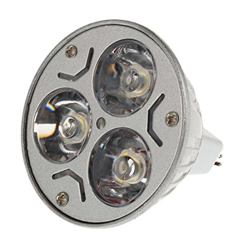 Sungetace Mr16 3W Led Spotlight Light Bulb Lamp Equivalent To 40W Halogen Warm White