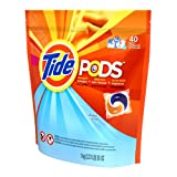 Tide Pods Detergent, Spring Meadow, 40-Count