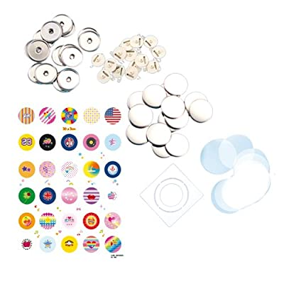 Bandai Badge It! 30 Badge Sets Refill Pack - Styles may vary