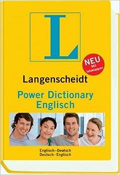Langenscheidt power dictionary englisch englisch deutsch for Dictionary englisch deutsch