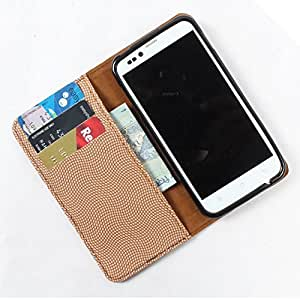 For Karbonn A7 Star - PU Leather Wallet Flip Case Cover