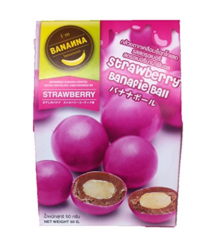 I'M Bananna Strawberry Banafie Balls 50G.