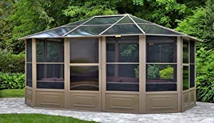 Amazon Com Gazebo Penguin 41215 4 Season Solarium 12 By