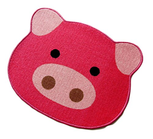Fashion Cute Bath Mat Door Mats Cute Cartoon Bath Mat (pig)