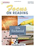 Ella Enchanted Reading Guide (Saddlebacks Focus on Reading Study Guides)