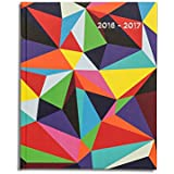 Pirongs Week-to-view 2016-2017 Limited Edition Academic Diary (Slightly wider than A5)