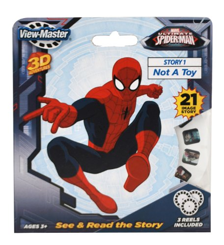 Basic Fun ViewMaster Spiderman 3 Reel Set - 1