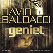 Geniet [Simple Genius] Audiobook by David Baldacci Narrated by Allan Svensson