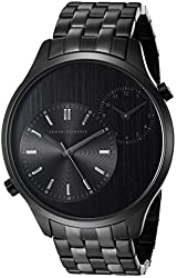 Armani Exchange Men's AX2161 Black Ion-Plated Stainless Steel Watch