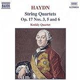 Haydn: String Quartets Op. 17, Nos. 3, 5 And 6