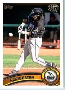 2011 Topps Pro Debut Baseball Card # 254 Adam Eaton Missoula Osprey MiLB (Prospect... by Topps