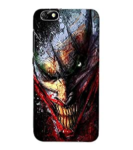 ColourCraft Scary Clown Design Back Case Cover for HUAWEI HONOR 4X