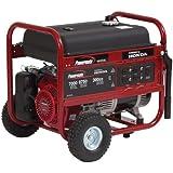 Powermate PM0497008, 7000 Running Watts/8750 Starting Watts, Gas Powered Portable Generator