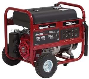 Powermate PM0497008 8,750 Watt 389cc 13HP Honda GX390 Gas Powered Portable Generator