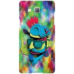 Printland Back Cover For Samsung Galaxy A5 SM-A500GZKDINS/INU - Neon Designer Cases