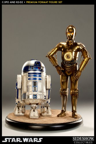 スターウォーズ/ C-3PO&R2-D2 プレミアムフォーマット フィギュア