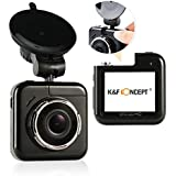 Car Camera K F Concept Dash Cam 2.0 Inch Mini HD 1080P 170 Degree Wide Angle Car Dashboard Camera With G Sensor...