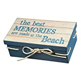 Wooden Box Sign Art - The Best Memories Are Made At the Beach