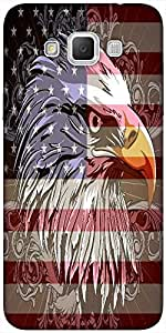 Snoogg 4th of july vector illustration Hard Back Case Cover Shield For Samsung Galaxy Grand Max