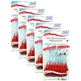 TePe Interdental Brushes 0.5mm Red - 5 Packets of 8 (40 Brushes)