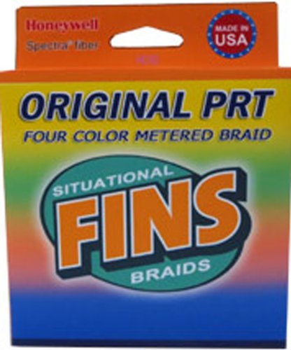 Fins Spectra 2400-Yards Multi Colored Metered Fishing Line, 100-Pound