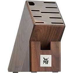 WMF 1886899990 Messerblock, unbestückt, dunkel