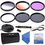 K&F Concept 62mm Lens Filter Kit Slim...