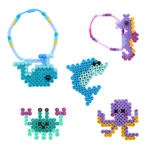 Perler Beads Ocean Bracelet Fused Bead Kit - 1