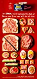 1964 Ad Vintage Hormel Deviled Spam Spread Crackers Canapes Processed Meat YWD2 - Original Print Ad