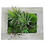 壁掛け用 フェイクグリーン 多肉植物 おしゃれ 造花 NK-HW1971
