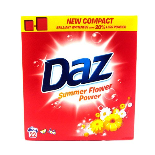 Daz Powder Flower Power 22 Wash 1700g