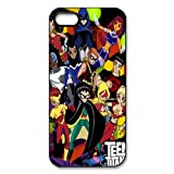 Vcapk Popular Cartoon Young Superheros Teen Titans-Red Robin Superboy Kid Flash Wonder Girl iPhone 5,5S Hard Plastic Phone Case